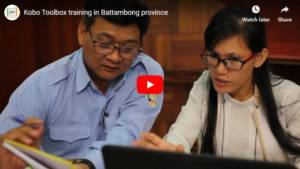 Kobo Toolbox Training in Battambong (Video)