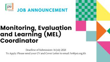 Monitoring, Evaluation and Learning (MEL) Coordinator