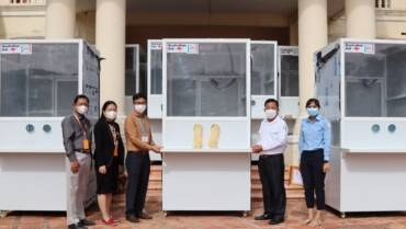 ANNUAL REPORT (April 2020-March 2021): Public Health Emergency Operations Centers in Cambodia, Laos, and Myanmar